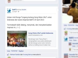 Share Postinganku oleh BaKTI