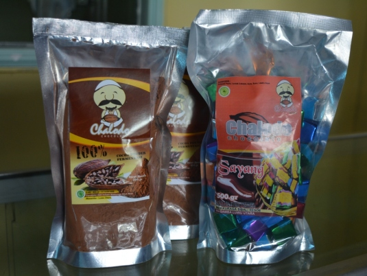 Coklat Bubuk 100% dan Permen Coklat Sayang
