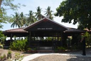 Tampak depan Kupa Beach Restoran