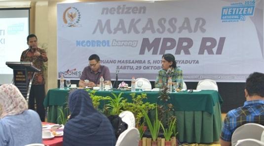 Nitizen Gathering, Ngobrol Bareng MPR RI